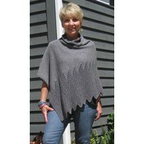 Lattice Lace Poncho