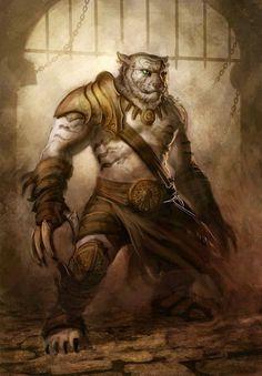 Image result for tabaxi warrior