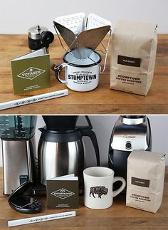 Stumptown brew kits -- might get one for my husband this Christmas!