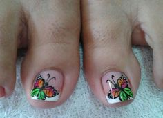 New Nail Art Design, Toe Nail Designs, Fabulous Nails, Braided Hairstyles, Lily, Pedicures, Triangles, Tattoos, Instagram Posts