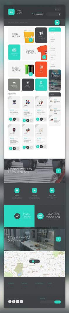 Printing Services OpenCart Template E-commerce Templates, OpenCart Templates, Art & Culture, Art Templates, Print Shop Templates