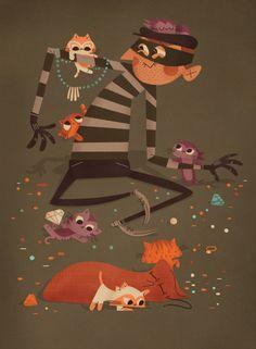 Andrew Kolb. Cat Burglar