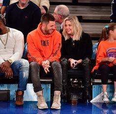 Ashley Benson - Charlotte Hornets Vs. New York Knicks game in New York City on Nov 26