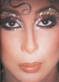 Cher as Queen Isabella, makeup and photograph by Kevyn Aucoin  clambistro.tumblr.com