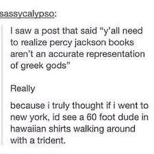 honestly percy jackson is just greek mythology fanfiction