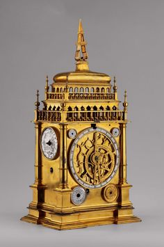 Ca Nuremberg (Germany) Material: Bronze, The dimensions of the monument: x x Owner: The National Museum in Warsaw Sistema Solar, Nuremberg Germany, Retro Clock, Antique Clocks, Vintage Clocks, Digital Museum, Historical Artifacts, Renaissance, Grandfather Clock
