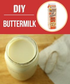 Homemade Cultured Buttermilk | 29 Foods You Didn't Know You Could DIY