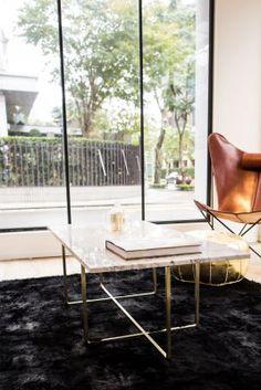 Ninety Table 120x60 cm Marmor White Carrara Soffbord | OX Denmarq | Länna Möbler | Handla online