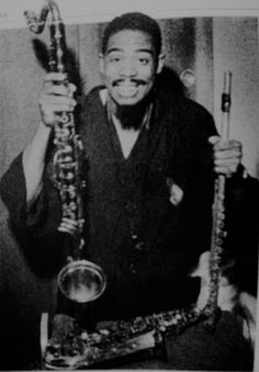 Eric Dolphy, truly great... Photo 'Improved' here...