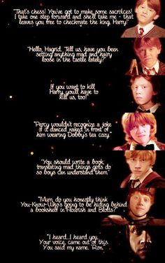 Completely unashamed of my deep love for Ron Weasley