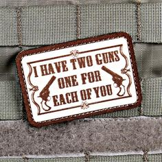 One for Each of You Morale Patch | Violent Little Machine Shop