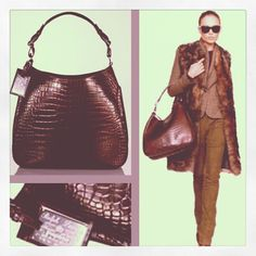 This Ralph Lauren limited edition alligator saddle hobo desperately needs a new home! Yes, it really did retail for $25,000, and is currently nowhere to be had.