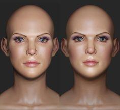 ArtStation - Beauty, Michael Gonsalves
