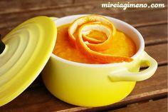 Crema de zanahoria y naranja http://www.mireiagimeno.com/recetas/crema-de-zanahoria-y-naranja