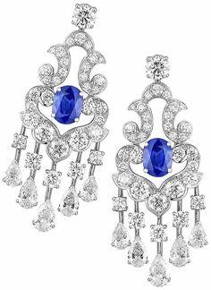 Jewels / karen cox. Graff diamond  earrings