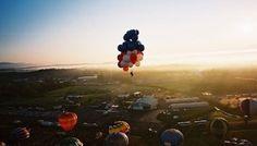 volare con palloncini elio - Cerca con Google