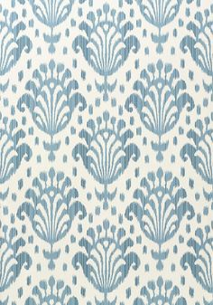 THAI IKAT, Light Blue, T4949, Collection Jubilee from Thibaut