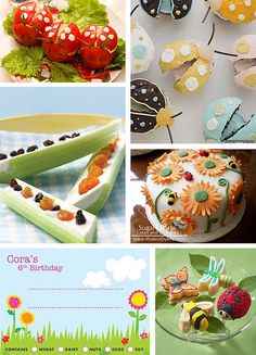 Bug party food..love this!!