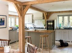 Border oak - open plan kitchen space