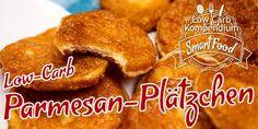 Parmesan-Plätzchen – Low-Carb Snack überraschend herzhaft