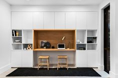 I found this home for sale when scrolling through real estate listings (as you do!). It's located in Pymble, Sydney NSW.If you love built-in cabinetry you'll love this home! It's ultra modern and yes it's styled up within an inch...