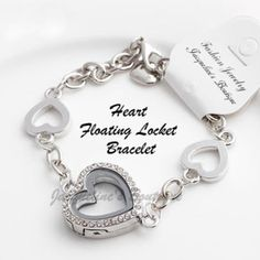 Heart Shaped Floating Loc... - Jacqueline's Boutiqu... | Scott's Marketplace