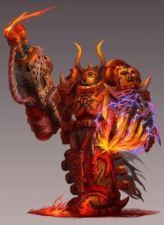 Lord Darkflame - Warhammer 40K:Emperor's Chosen by jubjubjedi on DeviantArt