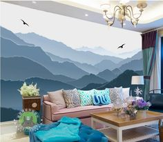 Find More Wallpapers Information about modern wallpaper murals Custom 3d photo wallpaper Nordic minimalist backdrop mountains landscape photo wall murals ,High Quality mural tiles,China mural decoration Suppliers, Cheap mural wallpaper for walls from Tuozhan Co.,Ltd  on Aliexpress.com