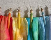 Rainbow gnome clothes pins
