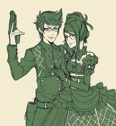 Victorian style! Jake and Jade