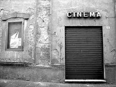 Busseto - Old cinema by RosLol, via Flickr