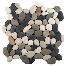 "Found it at Wayfair - Venetian Pebbles 12"" x 12"" Mosaic Tile in 4-Color Blend"