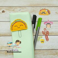 Hey, I found this really awesome Etsy listing at https://www.etsy.com/listing/469673708/taco-planner-clip-paper-clips-for