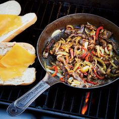 May 14: Grilled Philly Cheesesteaks | Food & Wine