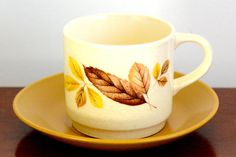 Johnson of Australia cup and saucer set with by ThatRetroPiece, $4.50