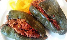 Spicy Mexican Stuffed Poblanos | PaleOMG