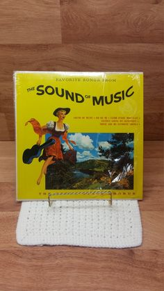 Favorite Songs from the Sound of Music by The Sound Stage Chorus – 1960s – SF 23300 – Somerset- vinyl record by MelsVintageVariety on Etsy