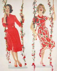 McCalls dress fashions, 1959.