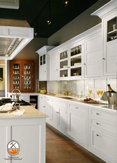 Photographer: Peter Rymwid  Design: Bilotta Kitchens