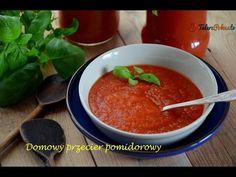 Domowy przecier pomidorowy