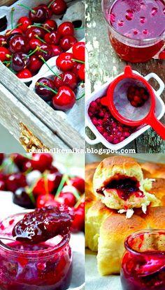 Cherry jam and cinnamon