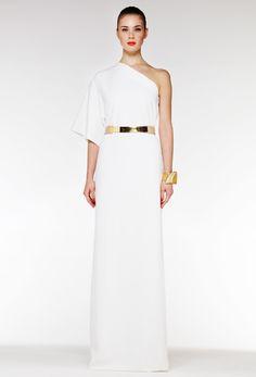 KIMONO MAXI DRESS - CREAM  £120.00
