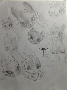 My first drawing, I really love Toothless he is sooooo cute ❤️