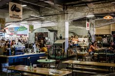 The Fenix Food Factory is a fresh-produce market in the… Food Hub, Artisan Food, Rotterdam, Brewery, Tours, Factories, Canning, Chefs, Warehouse