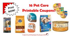 HURRY! Don't miss out on getting these 16 Pet Care Printable Coupons with over $37 in Savings! These won't last long!  Click the link below to get all of the details ► http://www.thecouponingcouple.com/pet-care-printable-coupons/ #Coupons #Couponing #CouponCommunity  Visit us at http://www.thecouponingcouple.com for more great posts!
