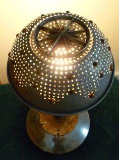 Steampunk  Table Lamp Industrial Lighting Home by AffinityArt, $95.00
