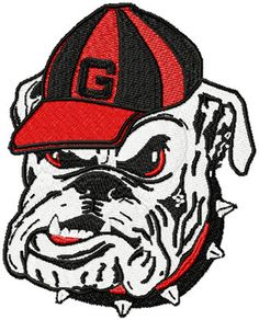 Georgia Football Free Coloring Pages