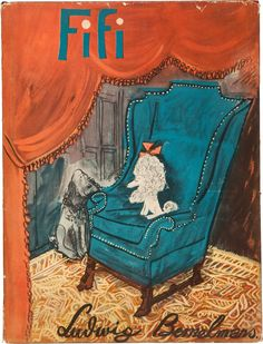 Fifi by Ludwig Bemelmans | Simon & Schuster, 1940. The story of a poodle and her adventures in Africa.