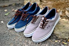 4ef2285aa4 Vans Era 59 Canvas   Leather Disponibles - Sneakers.fr