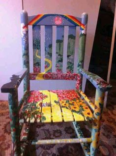 rocking chair  wizard of oz